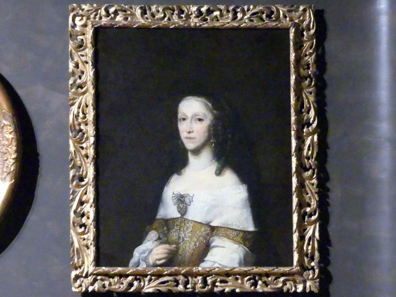 Daniel Schultz: Bildnis der Magdalena Ludmilla von Kolowrat-Liebstein, 1659