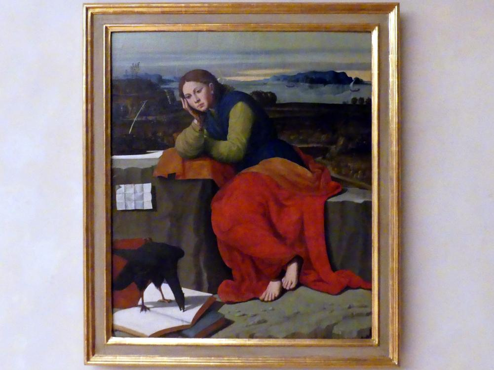 Giovanni Francesco Caroto: Hl. Johannes Evangelista auf Patmos, Undatiert