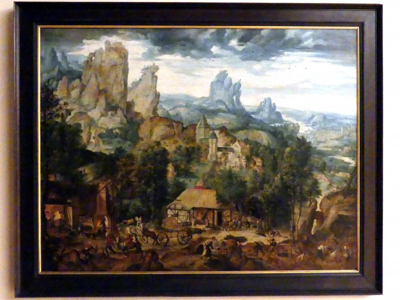 Herri met de Bles: Landschaft mit Eisenwerk, Undatiert