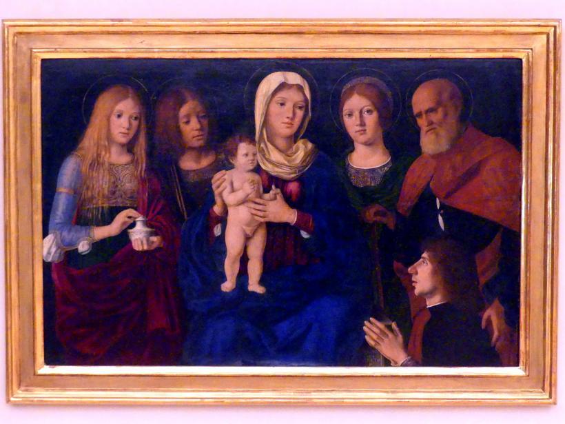 Pasqualino di Niccolò (Pasqualino Veneto): Sacra Conversazione, nach 1502