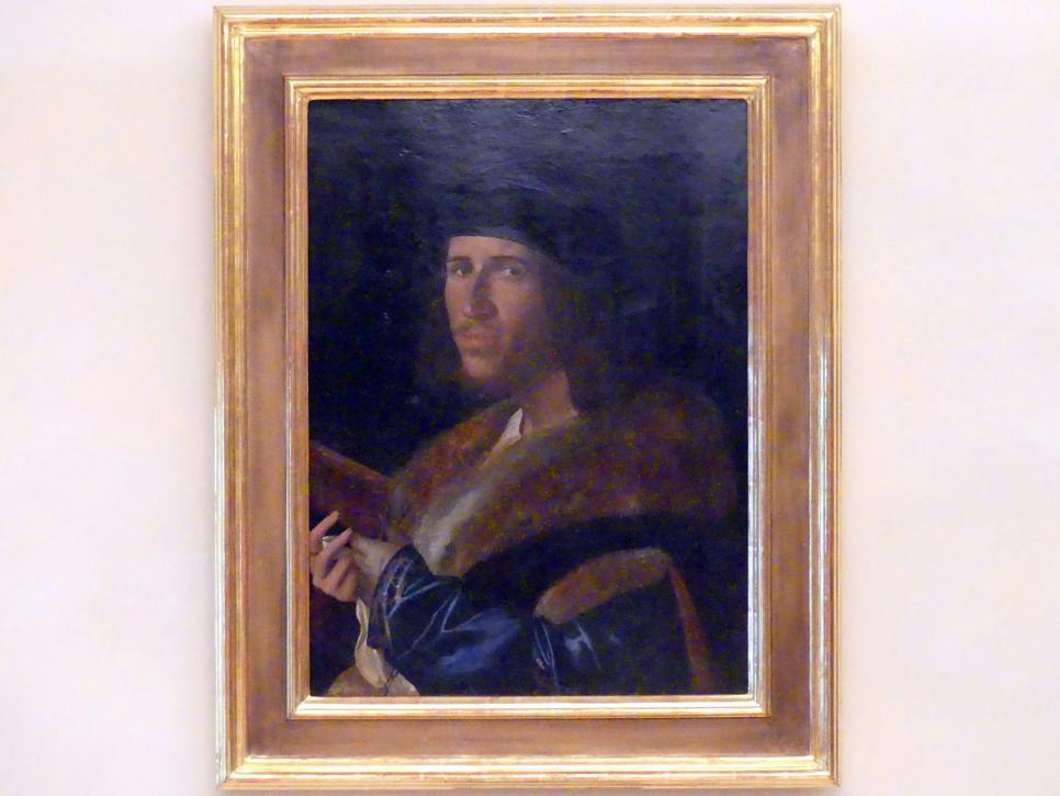 Paolo Morando (Cavazzola): Bildnis eines jungen Mannes, Undatiert