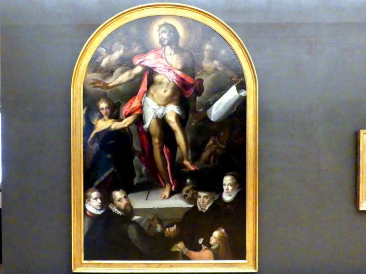 Bartholomäus Spranger: Die Auferstehung Christi, 1592 - 1593