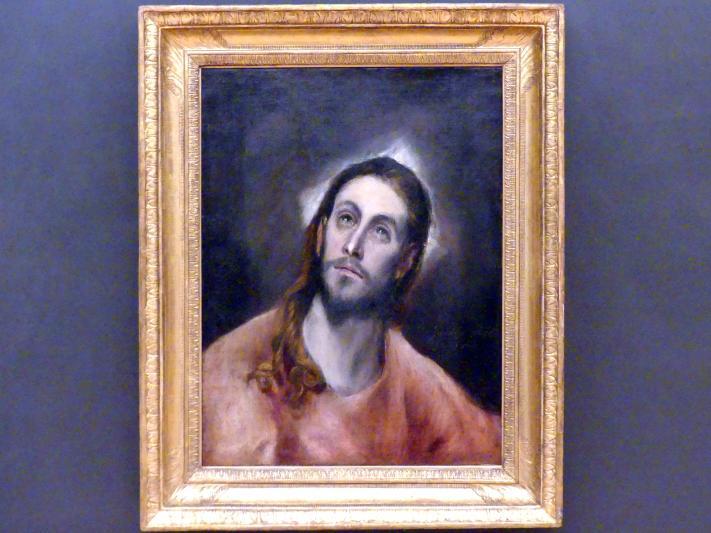 El Greco (Domínikos Theotokópoulos): Christus im Gebet, um 1590