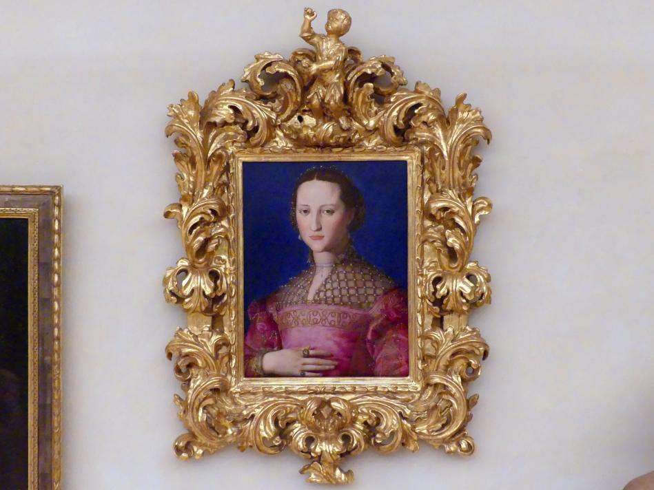 Agnolo di Cosimo di Mariano (Bronzino): Bildnis der Eleonora von Toledo, Undatiert