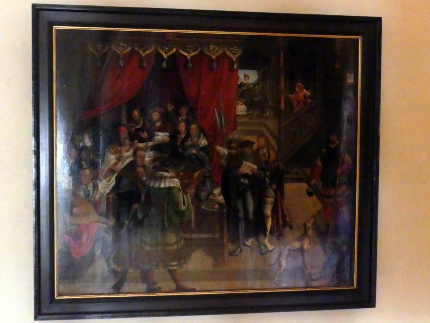 Hans Wertinger: Alexander der Große auf dem Krankenbett, Undatiert