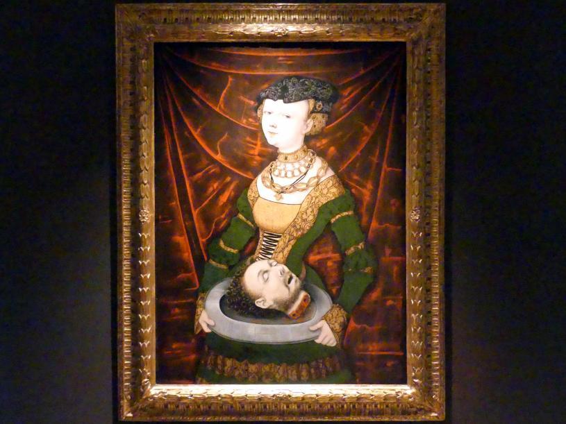 Salome mit dem Haupt Johannes des Täufers, um 1525