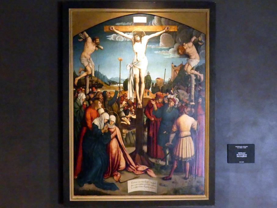 Bernhard Strigel: Die Kreuzigung, Undatiert