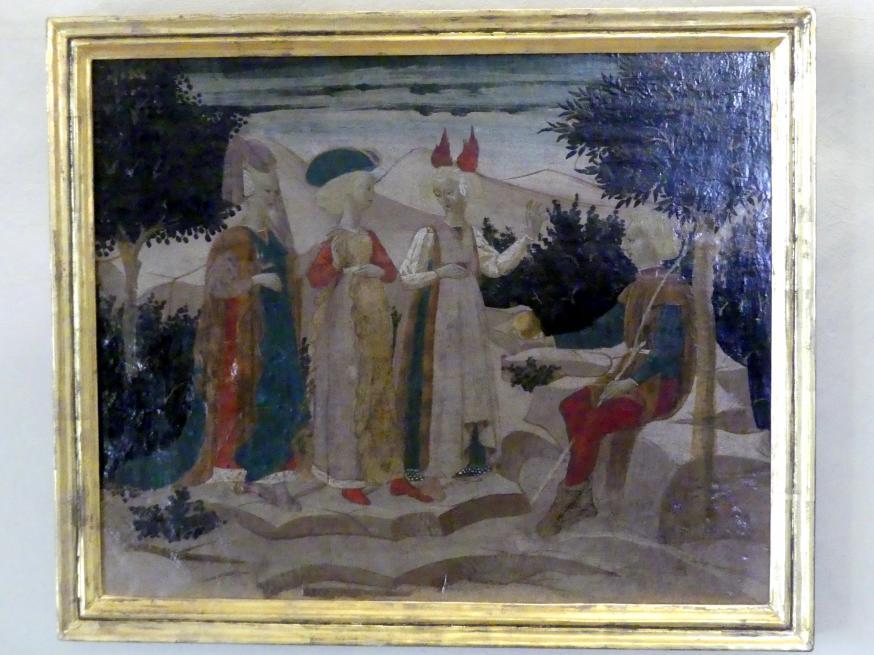 Antonfrancesco di Giovanni dello Scheggia: Das Urteil des Paris, Undatiert