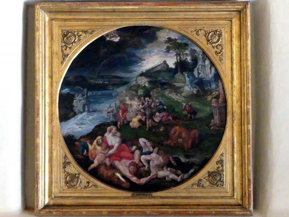 Romulo Cincinato: Die Sintflut, 1555