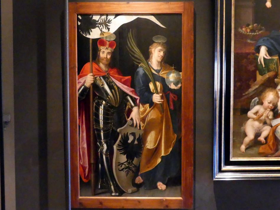 Bartholomäus Spranger: Hl. Wenzel und hl. Veit, Undatiert