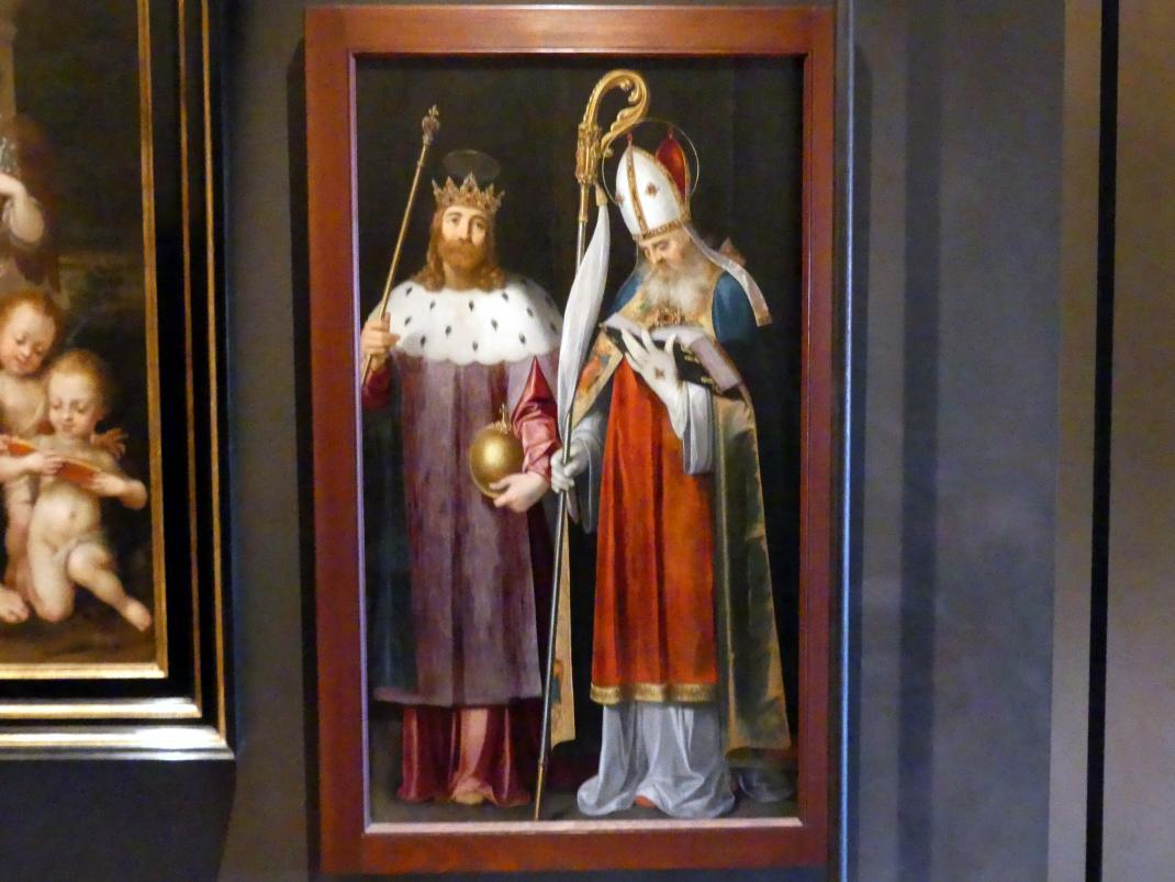 Bartholomäus Spranger: Hl. Sigismund und hl. Adalbert, Undatiert