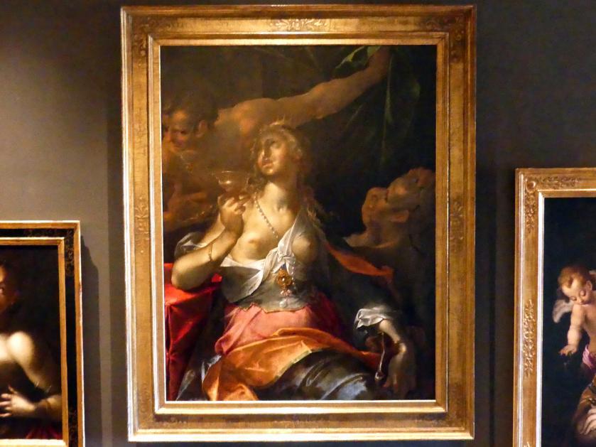 Bartholomäus Spranger: Der Selbstmord der Sophonisbe, 1603 - 1607
