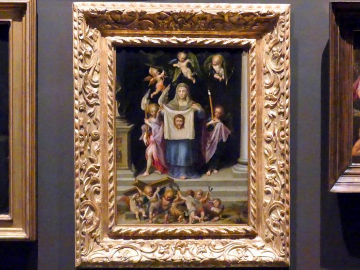 Dirck de Quade von Ravesteyn: Hl. Veronika mit Engeln, Undatiert