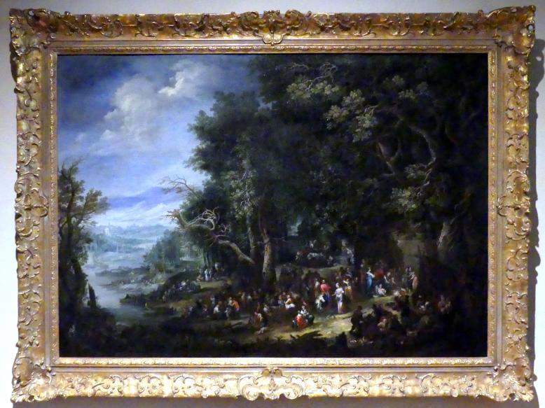 Johann Jakob Hartmann: Allegorie der Erde - Landschaft mit der Begegnung Christi mit Maria und Martha, Undatiert