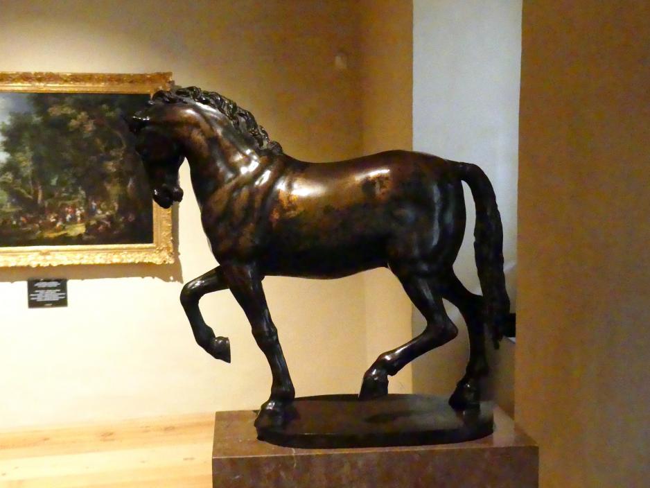 Adriaen de Vries: Schreitendes Pferd, 1610