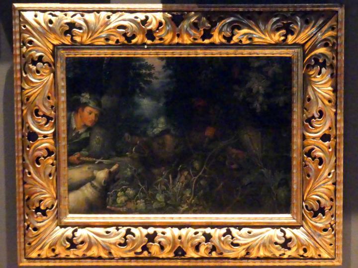 Roelant Savery: Wildschweinjagd, 1609