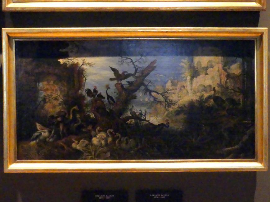 Roelant Savery: Landschaft mit Vögeln, 1618