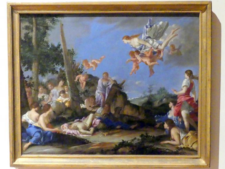 Giulio Carpioni: Venus und die Nymphen betrauern Adonis, 1656 - 1663