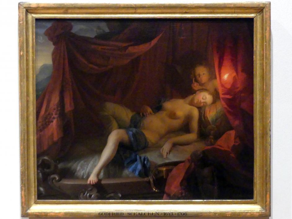 Godefridus Schalcken (Godfried Schalcken): Schlafende Venus, Undatiert