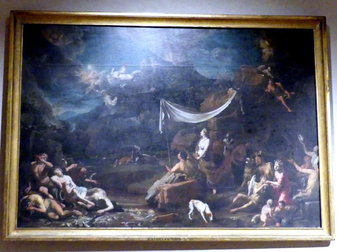 Johann Heiss: Der Sturz des Phaethon, 1678