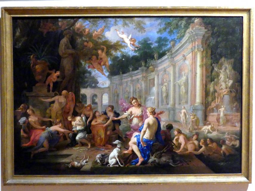 Johann von Spillenberger: Diana und Callisto, 1679