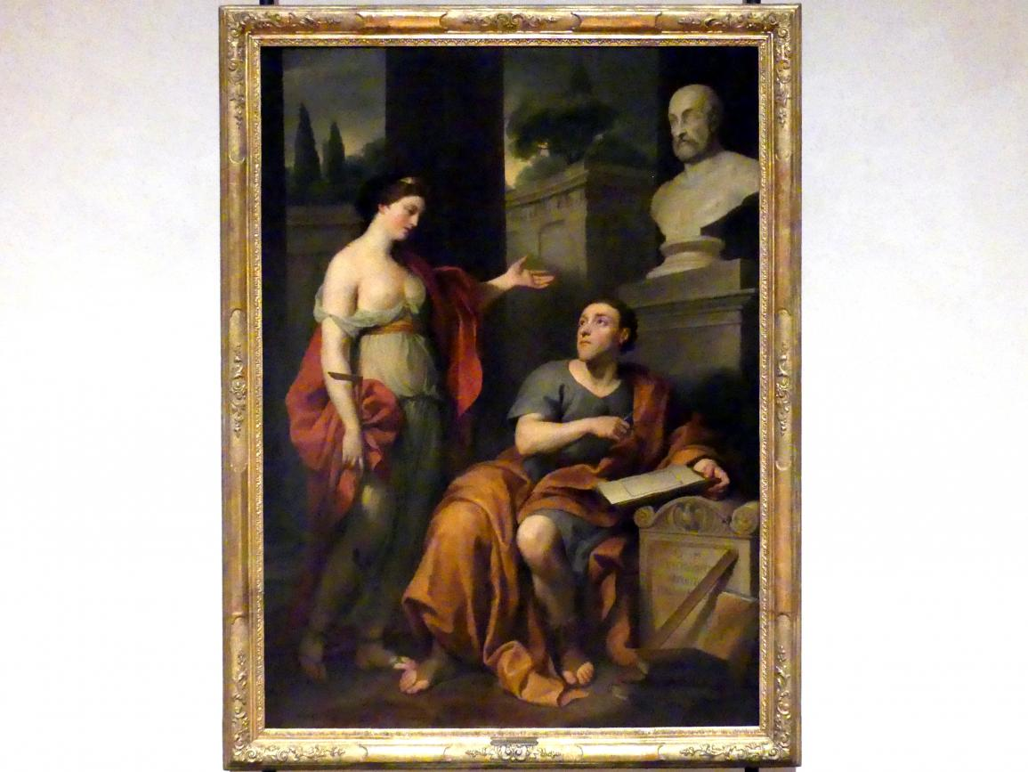 Anton Raphael Mengs: Der Architekt und die Muse. Bildnis des James Caulfield, Lord Charlemont, vor 1757