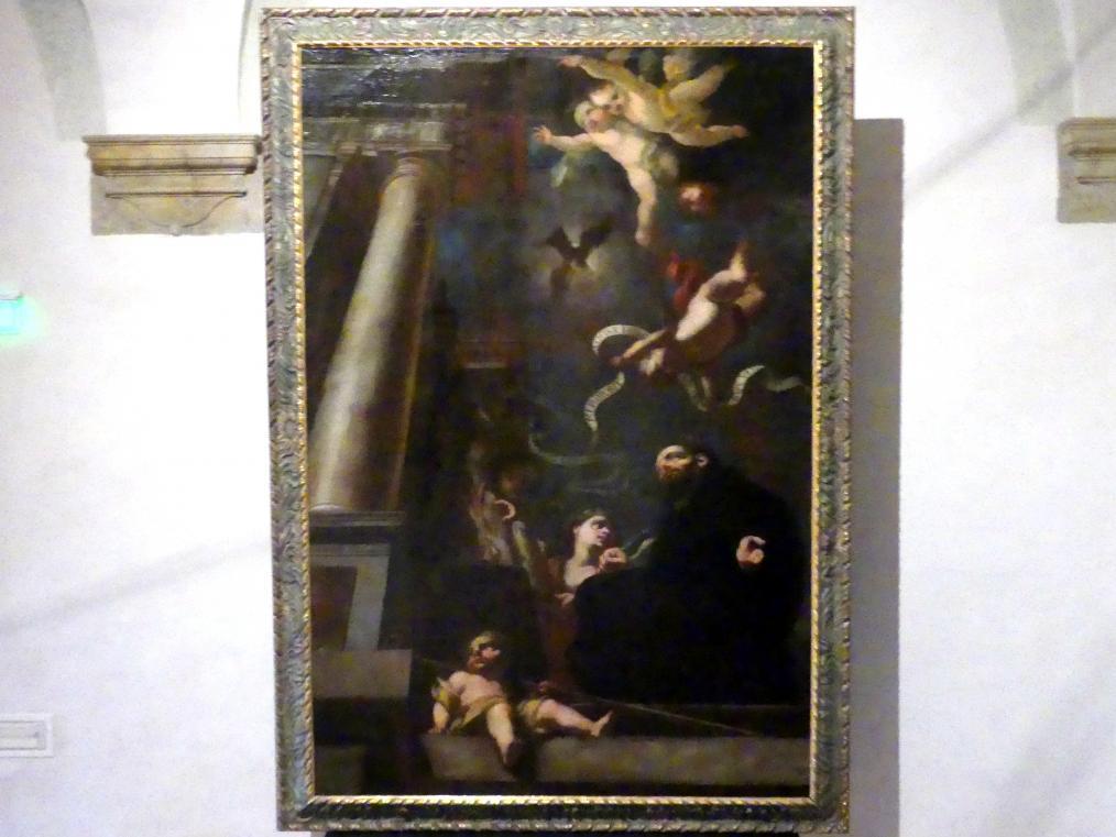 Michael Wenzel Halbax: Der hl. Thomas von Aquin festigt mit seiner Summa die von Häretikern gestörte Kirche, Undatiert