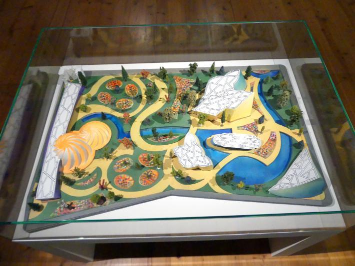 Frank Stella: Erstes Modell für die Kunsthalle Dresden, 1991