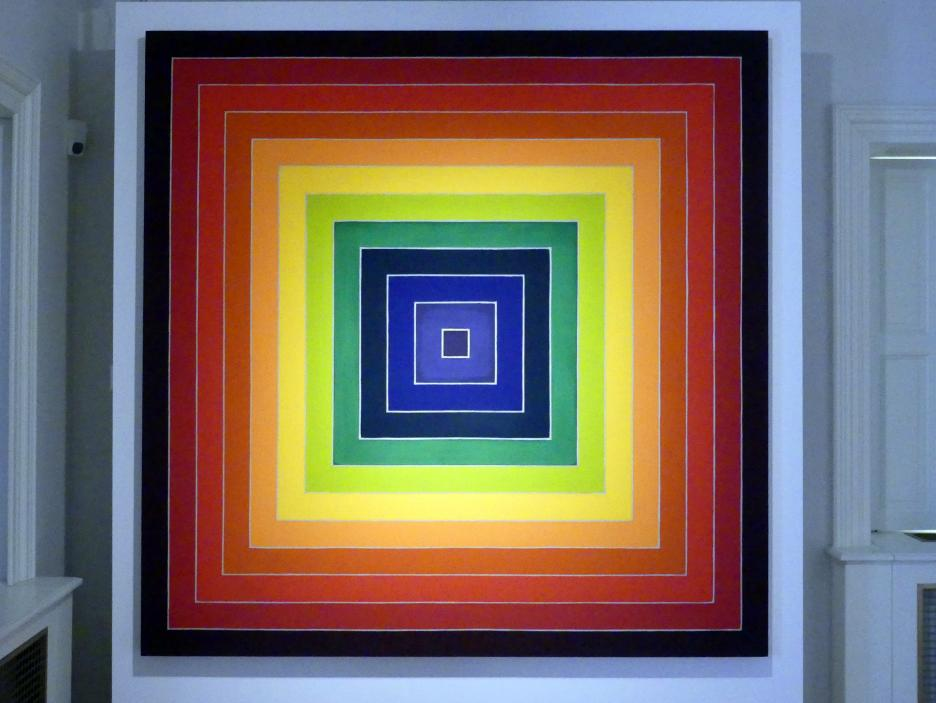 Frank Stella: Konzentrische Quadrate, 1974