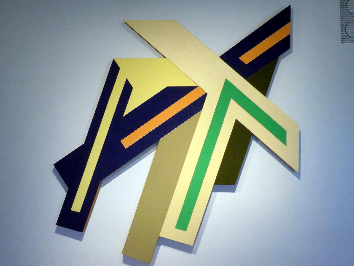 Frank Stella: Narowla I (Zyklus Polnische Dörfer), 1971