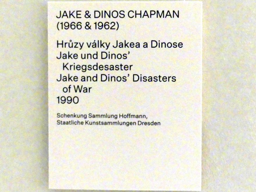 Jake und Dinos Chapman: Jake und Dinos' Kriegsdesaster, 1990, Bild 6/6