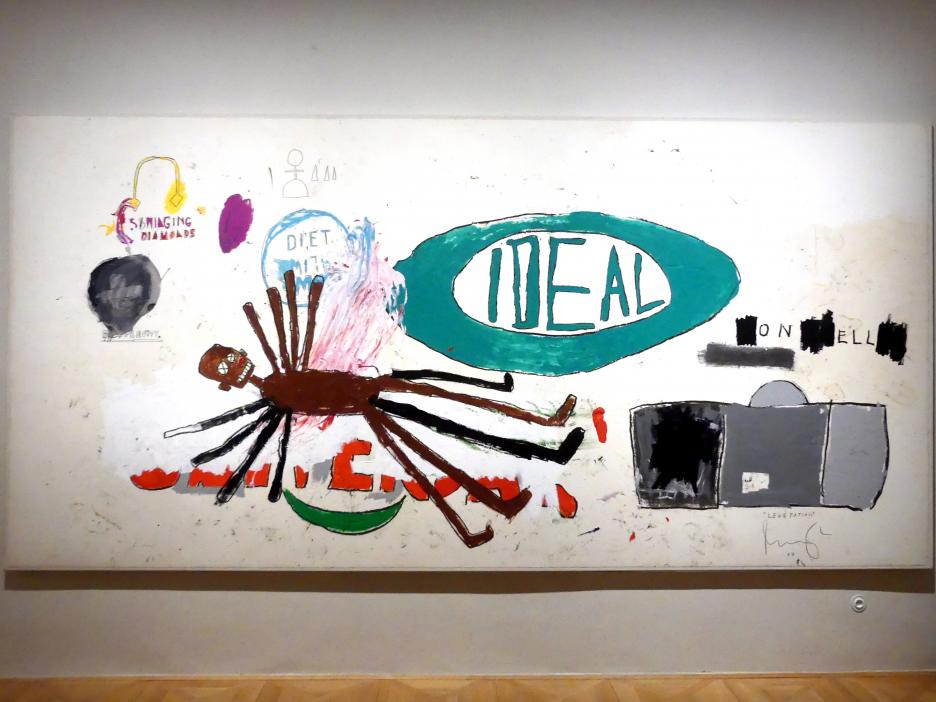 Jean-Michel Basquiat: Levitation, 1987