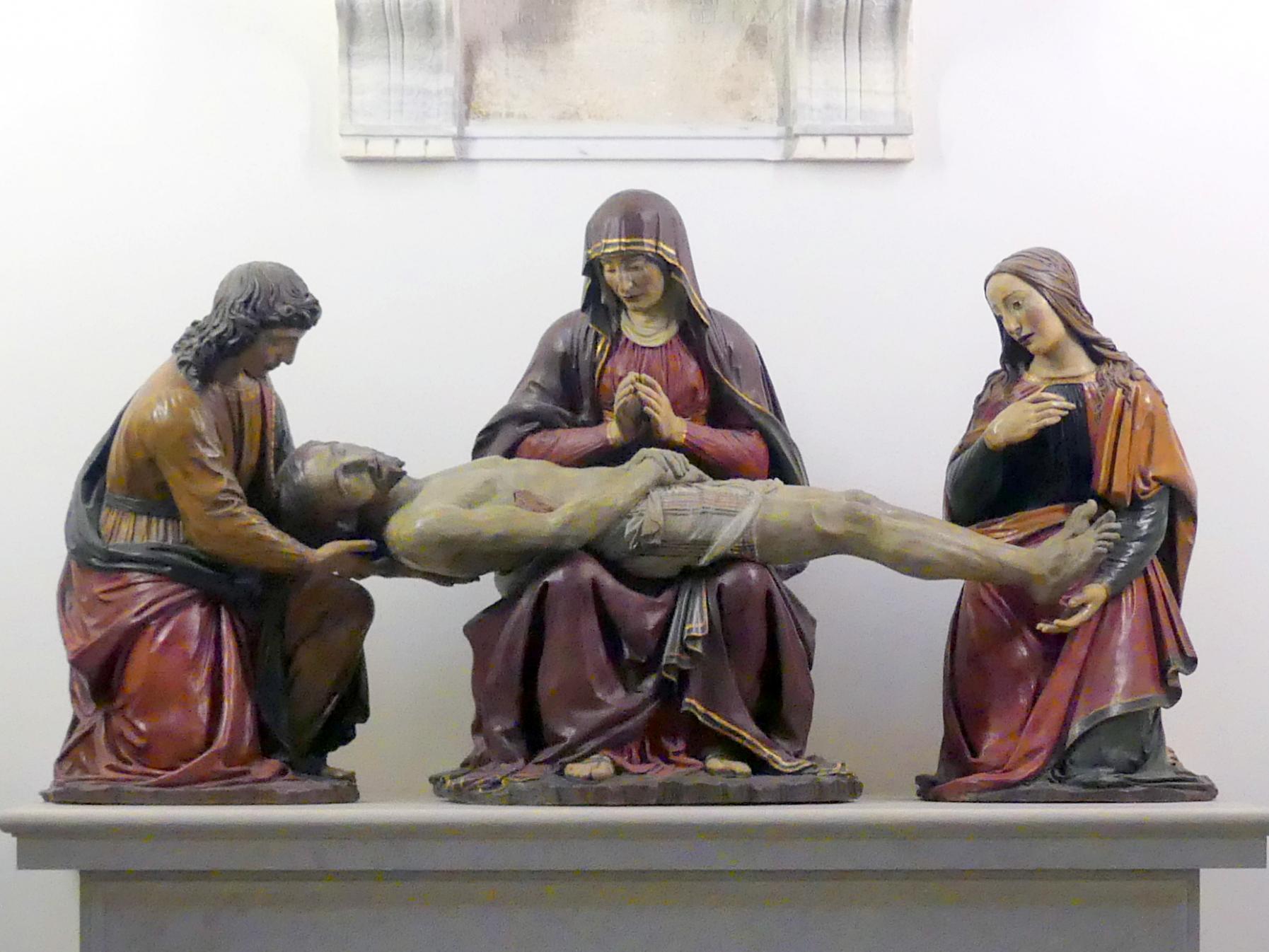 Leonardo del Tasso: Beweinung Christi, Ende 15. Jhd.