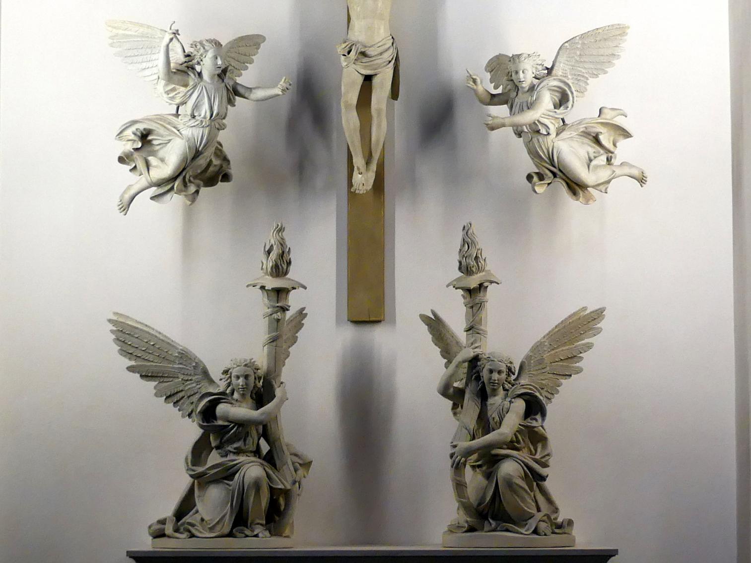 Antonio Begarelli: Vier Engel, um 1540