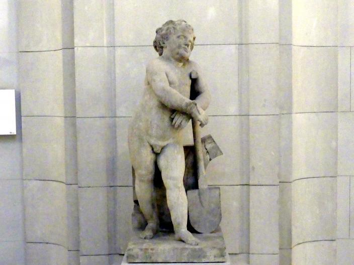 Johann Gottfried Knöffler: Der Phlegmatiker - aus einer Reihe der Vier Temperamente, um 1763 - 1770