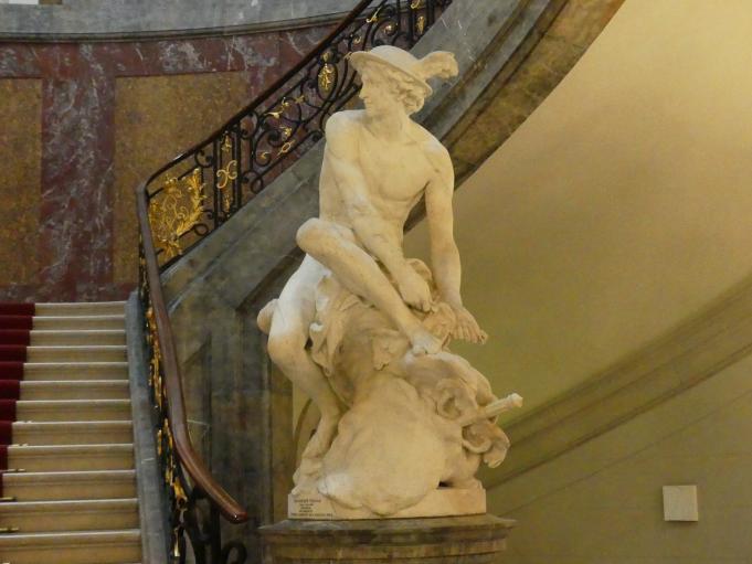 Jean-Baptiste Pigalle: Merkur, 1746 - 1748