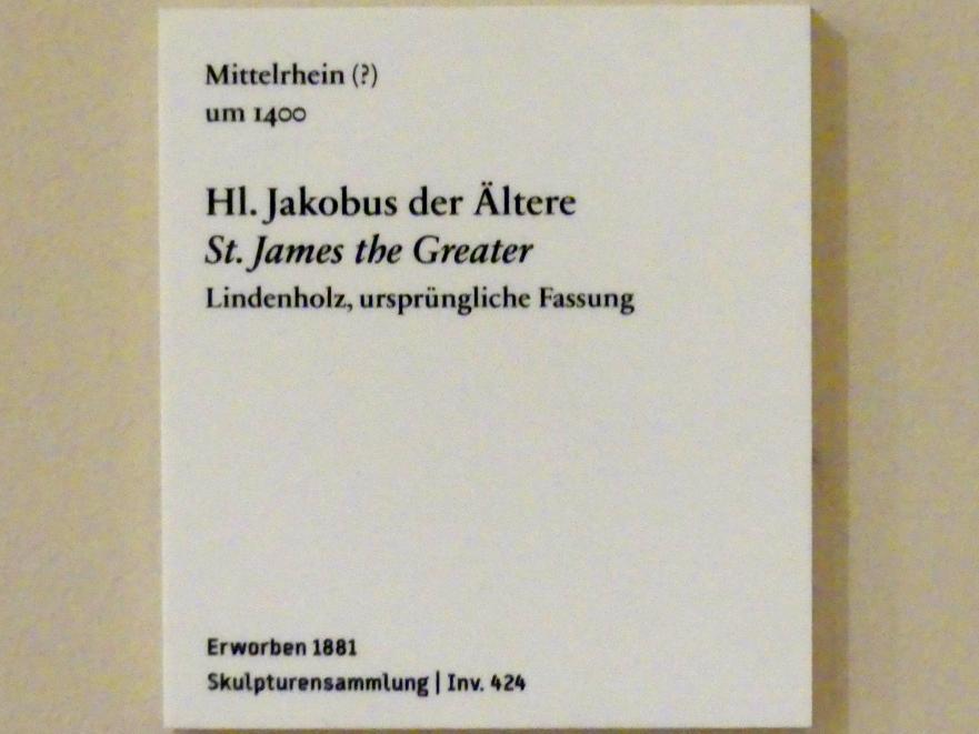 Hl. Jakobus der Ältere, um 1400
