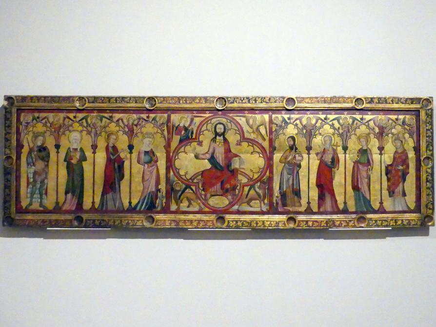 Retabel vom Hochaltar der Kirche St. Maria zur Wiese in Soest, um 1340 - 1350