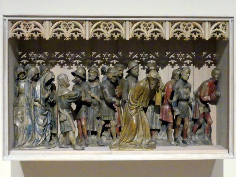 Kreuztragung Christi aus Lorch am Rhein, um 1425