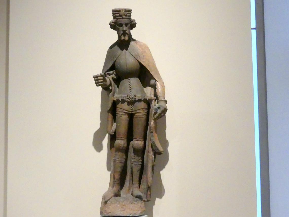 Fürstliche Gestalt, um 1390