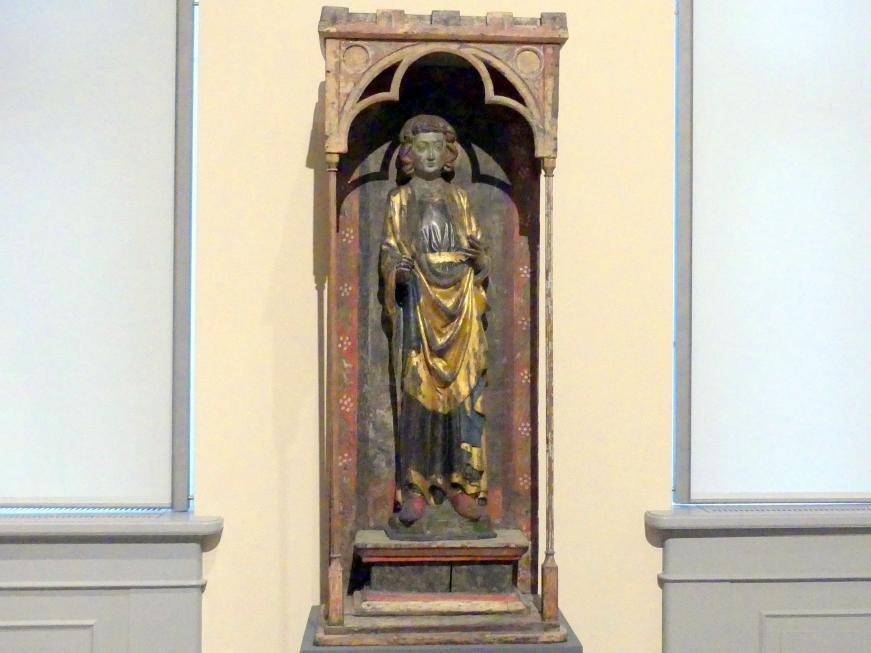 Hl. Pankratius in einem Tabernakelschrein, um 1300