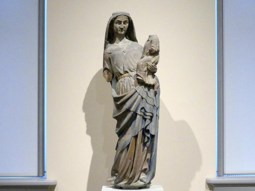Maria mit dem Kinde, um 1300