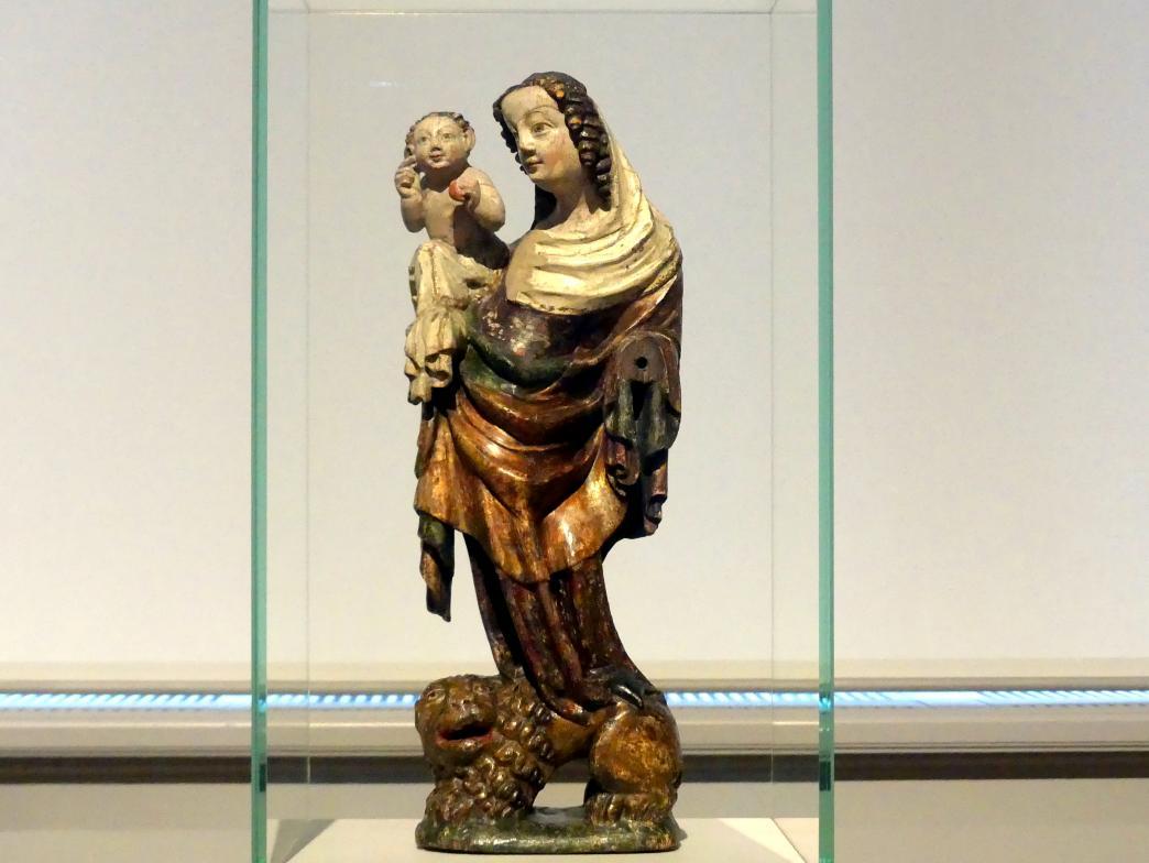 Muttergottes auf dem Löwen, um 1340 - 1350
