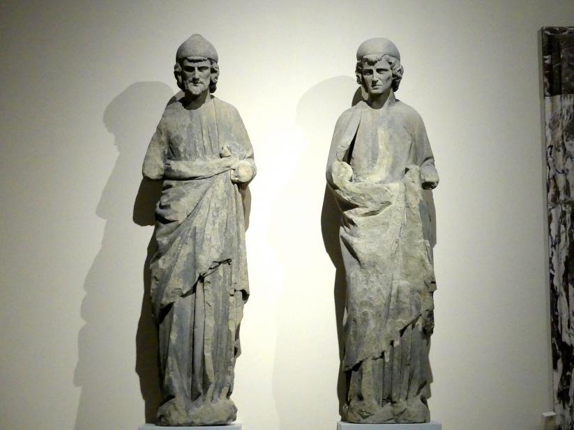 Die Propheten Jesaia und Jeremias, um 1240