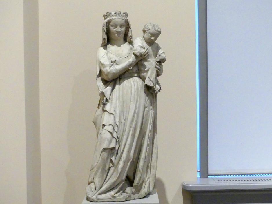 Muttergottes, um 1300