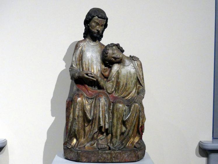 Der Apostel Johannes an der Brust Christi, um 1310