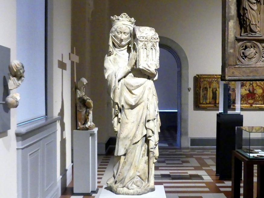 Johanna I. von Navarra, Königin von Frankreich als Stifterin, um 1305