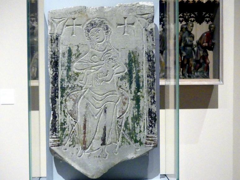 Grabstele einer jungen Frau, um 350 - 450