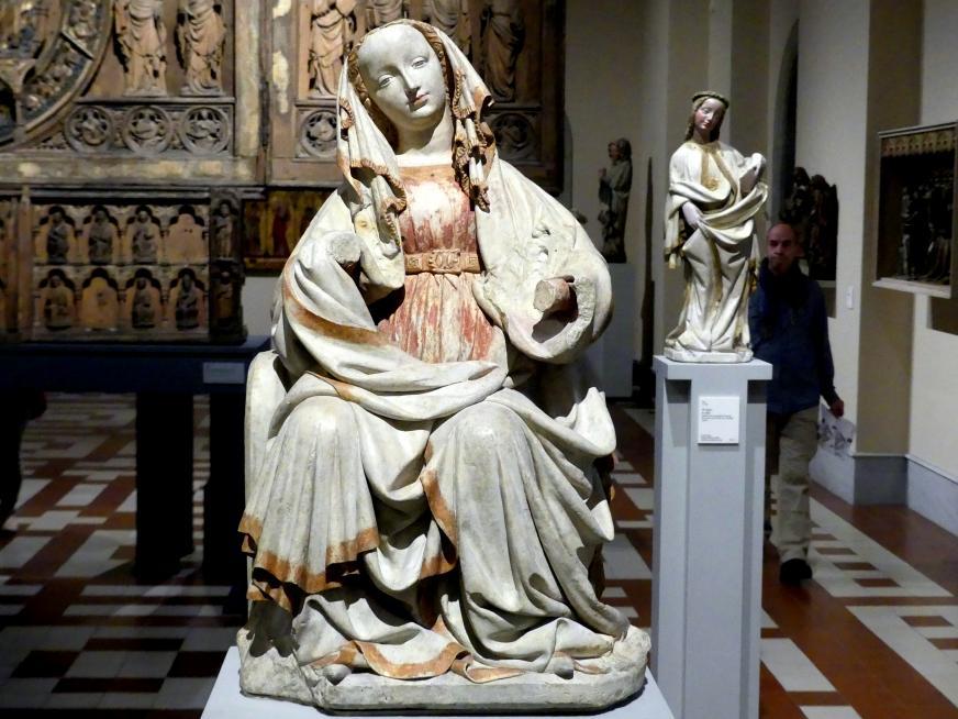 Thronende Muttergottes, um 1390