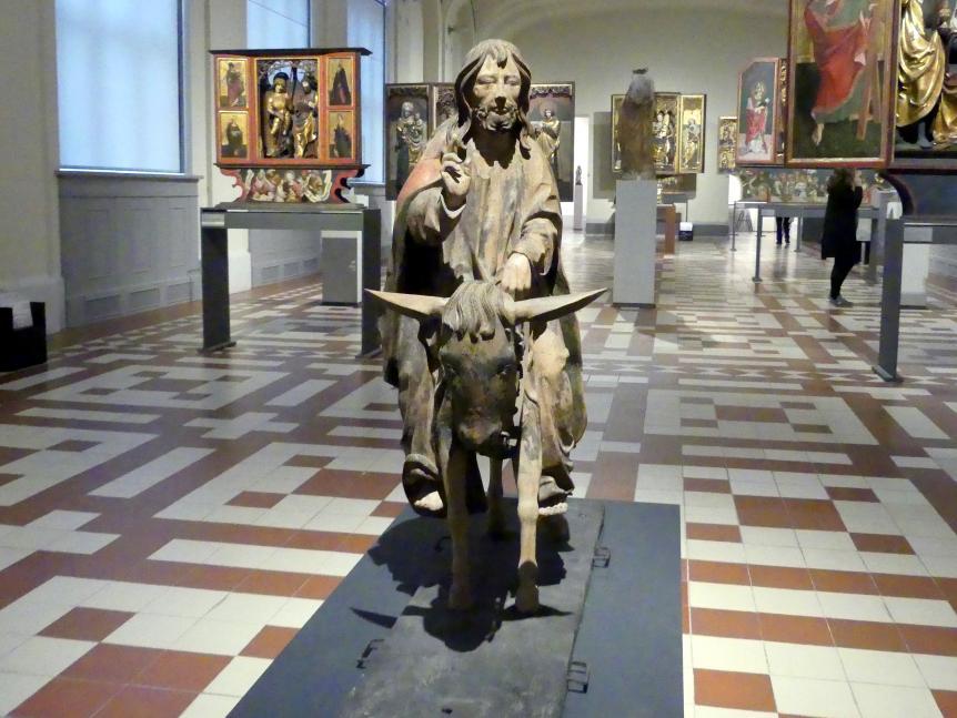 Christus als Eselreiter, mit geführt bei Prozessionen an Palmsonntag, um 1520 - 1530